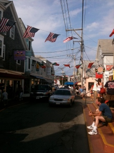 Must remain alert on the streets of Provincetown!