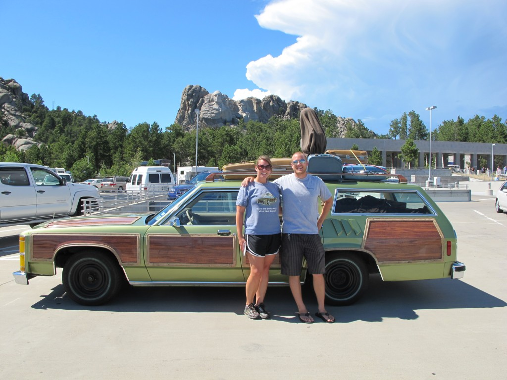 Mt. Rushmore and Truckster
